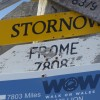 Frome 'on the map' on the Falkland Islands but who put it there?