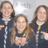 Three Frome Scouts  given Gold Award for  outstanding achievement