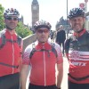 Frome cyclists complete London to Paris challenge in less than 24 hours