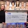 The Wig Sanctuary presents over £7,000 to Dorothy House Hospice