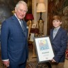Frome schoolboy's Royal Christmas stamp of approval!