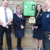 New Defibrillator at the heart of enlarged community