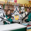 Stormtroopers gather in Frome in search of 'The Last Jedi'