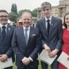 Students receive Gold  Duke of Edinburgh awards at Buckingham Palace