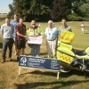 """Lions present £5,000 to the """"blood bikers"""""""