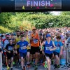 Record number of runners  conquer hot half marathon