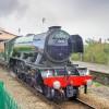 Legendary steam train thrills onlookers