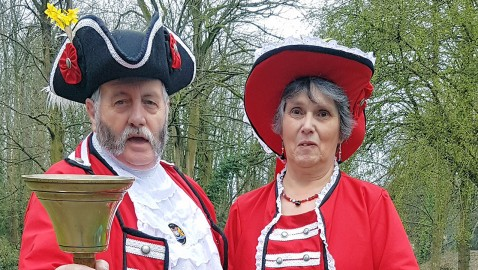 Frome prepares for Britain's largest town crier festival