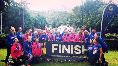 Three Peaks team raise £30,000 for We Hear You