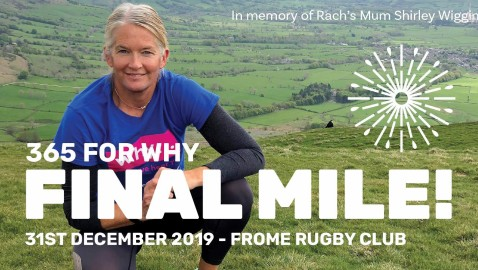 Take part in the final '365 for WHY' mile  on New Year's Eve!