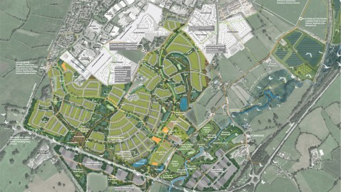 Campaigners urge caution as plans for 1,700 houses are submitted