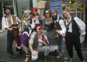 Pirates take to the street as the carnival gets under way