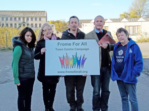 frome for all, saxonvale, frome, somerset,