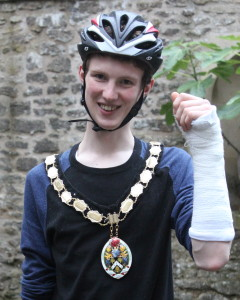 Dickon Moore mayor of Frome