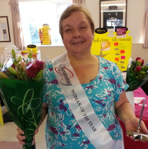 Slimming World woman of the year Lyn