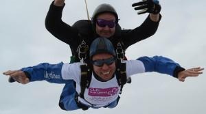 Nigel Crutchley skydive