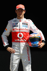 Jenson Button will be switching on the lights.
