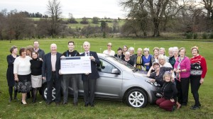 Orchardleigh Golf Club and the cheque.