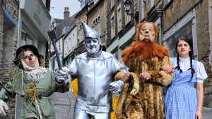 Which Oz character will you dress up as on 14th July?