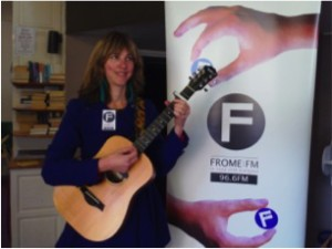 Sara Coffield, composer of the FromeFM song