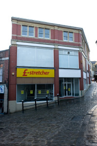 The former Poundstretcher store in Frome.