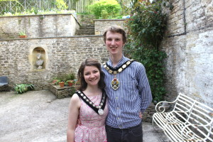 Dickon Moore's term as the mayor of Frome comes  to an end this week
