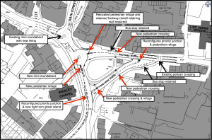 Traffic proposal from Saxonvale developers