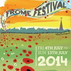 f608 Frome Festival Brochure Cover with Words
