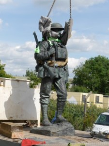 The Memorial theatre soldier