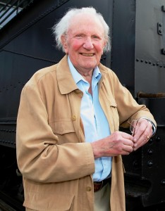 David Shepherd at the East Somerset Railway