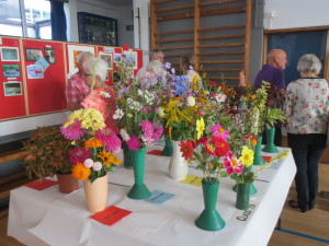 An array of colour at the 46th annual show.
