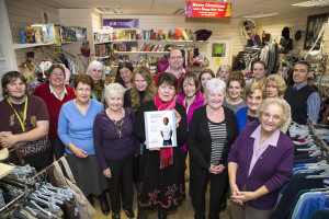 Volunteers from the Barnardos shop in Frome