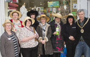 Many charity shops in Frome have teamed up with Mayor Peter Macfadyen for the event.