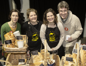 Frome Food organisers Jackie Adkin, Lindsay Downe, Pia McGee and Liam McGee