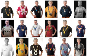 Peter Macfadyen's different mayoral chains
