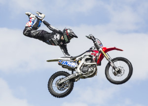 The Bolddog Ling Freestyle Motorcross Team impress the crowds