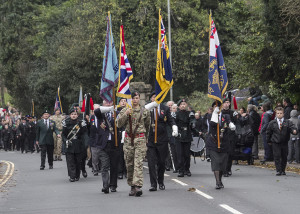 The remembrance procession